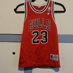 Vintage Champion Jordan Bulls Jersey